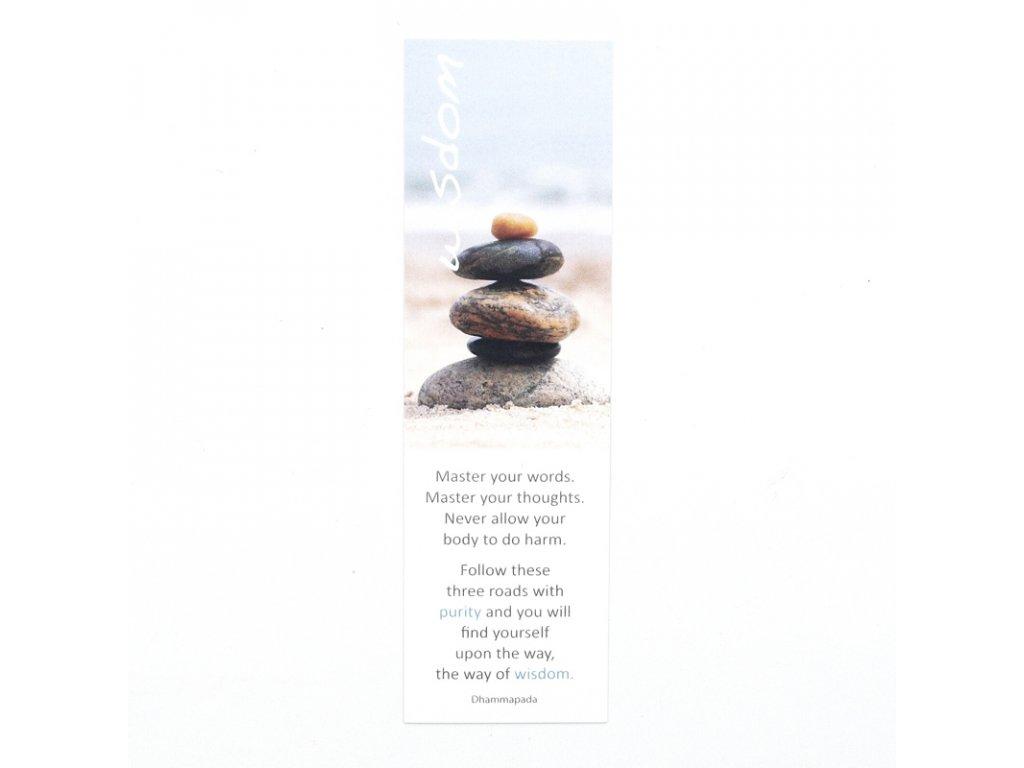 Záložka do knížky Inspirational Wisdom