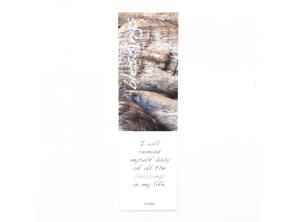 Záložka do knížky Inspirational Blessings