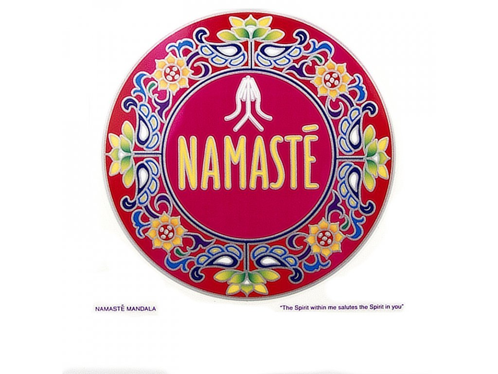 Mandala Sunseal V Namasté
