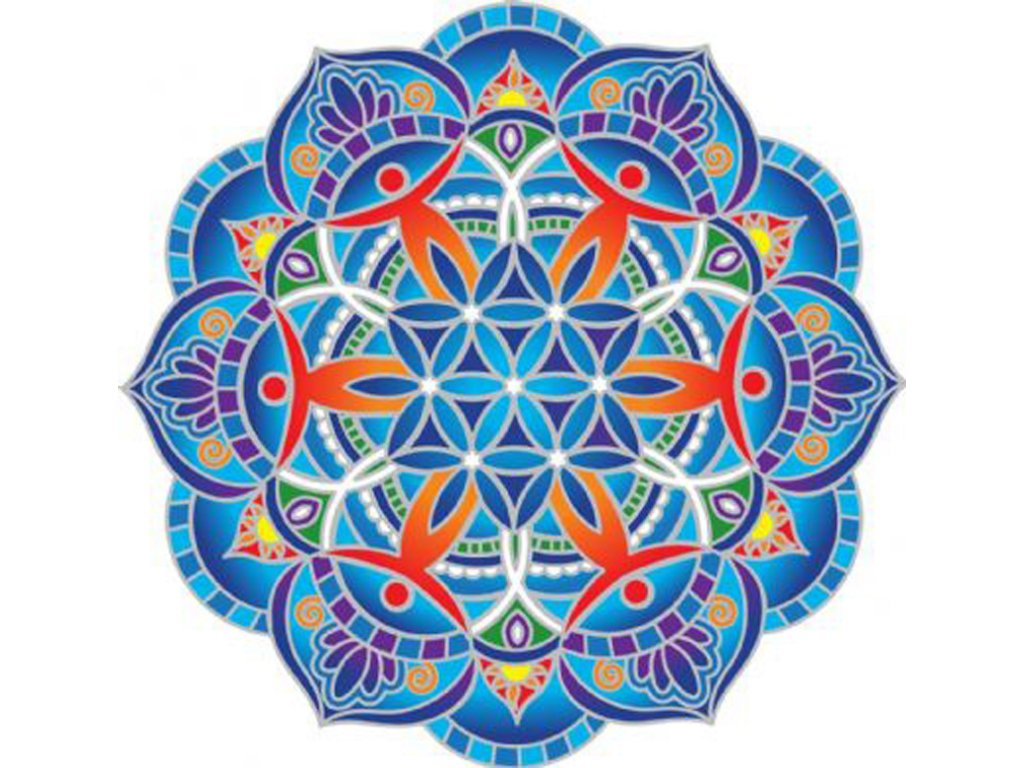 Mandala Sunseal V Circle of Friends