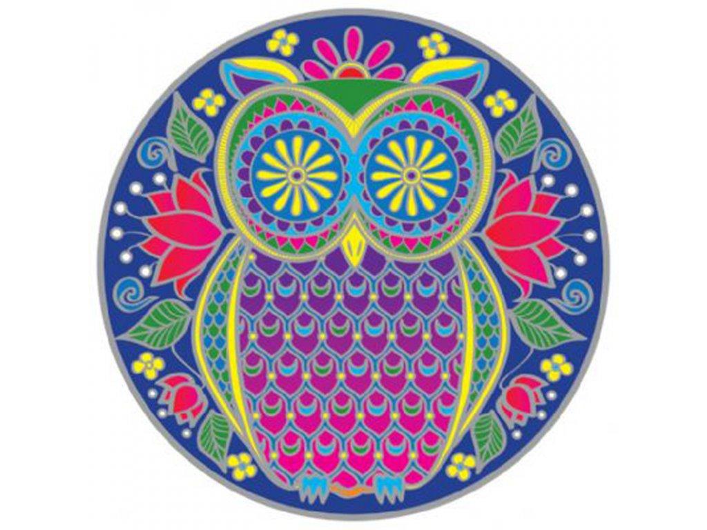 Mandala Sunseal V Midnight Owl