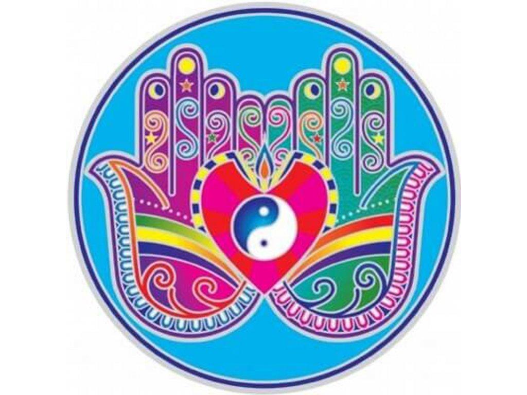 Mandala Sunseal V Healing Hands