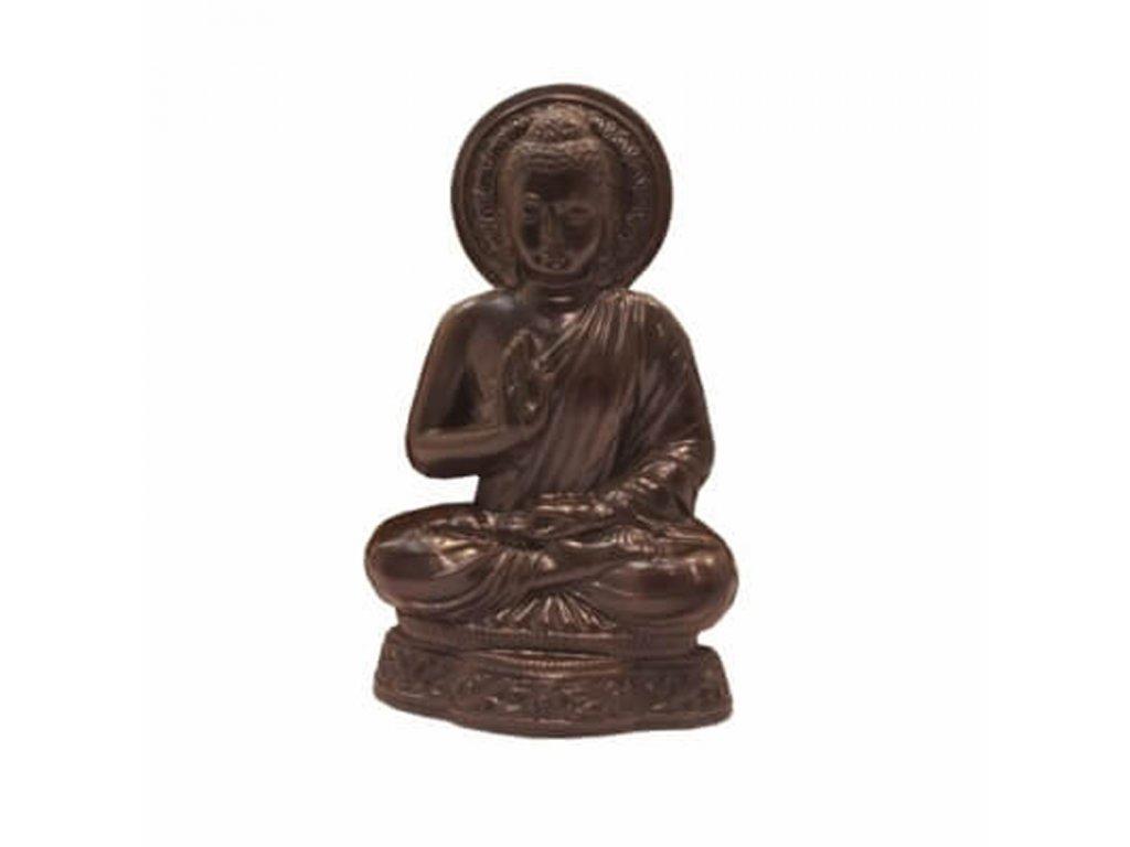 Závěsná dekorace resin Buddha Teaching 23 cm