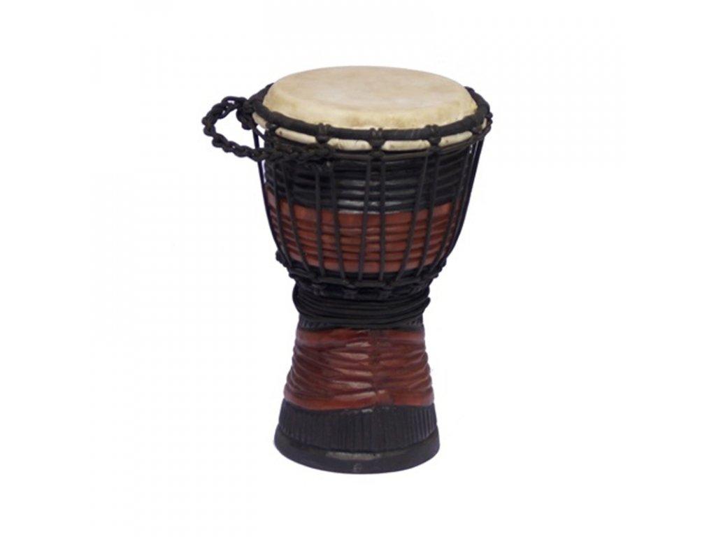 Buben Djembe Red & Black 01 30 cm
