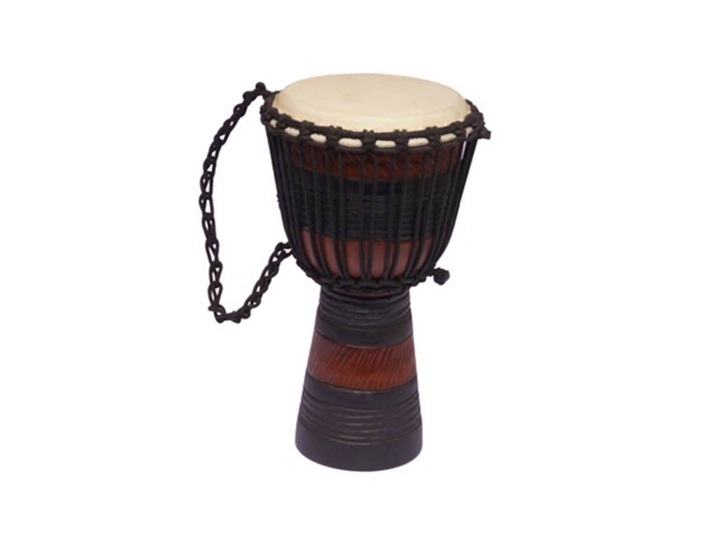 Buben Djembe Red & Black 02 40 cm