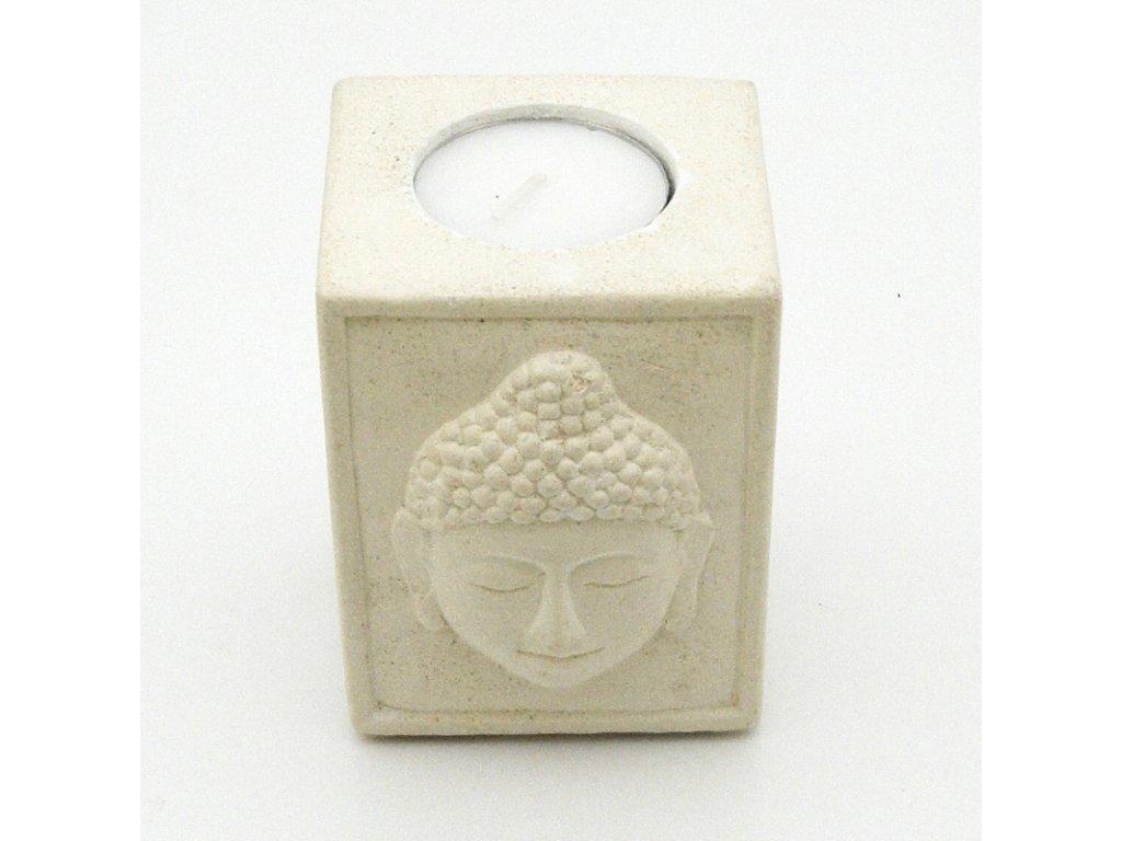 Svícen na čajové svíčky Buddha
