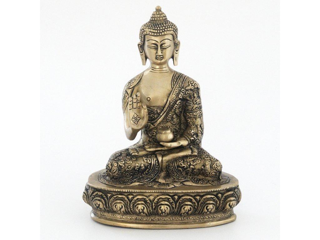 Soška kov Buddha 23,5 cm