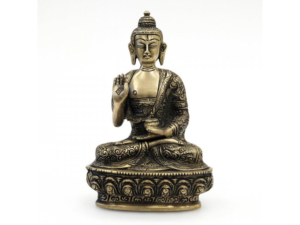 Soška kov Buddha 19,5 cm 01