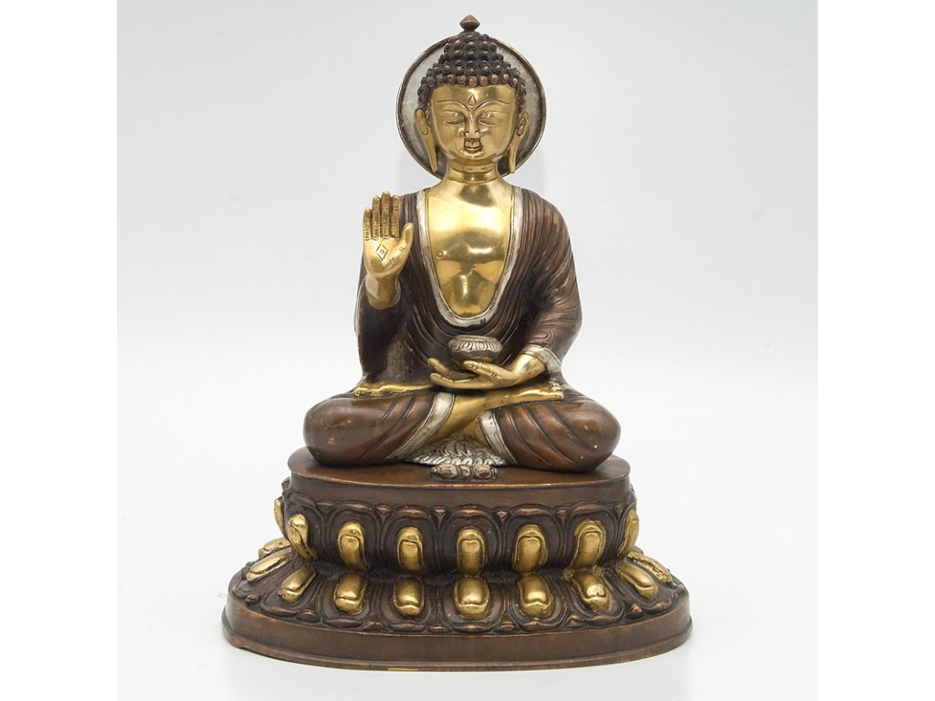 Soška kov Buddha 40 cm