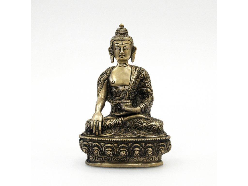 Soška kov Buddha 19,5 cm 02