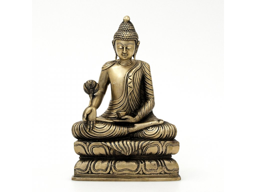Soška kov Buddha 29 cm