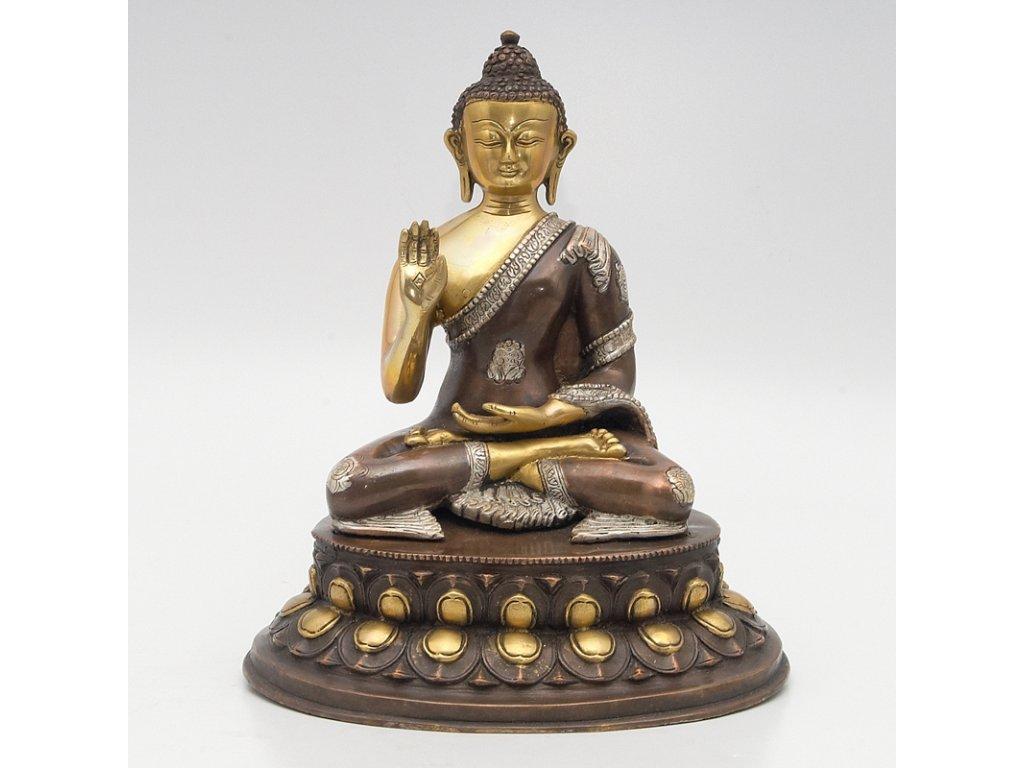 Soška kov Buddha 34 cm