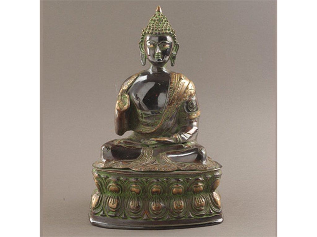 Soška kov Buddha 38 cm