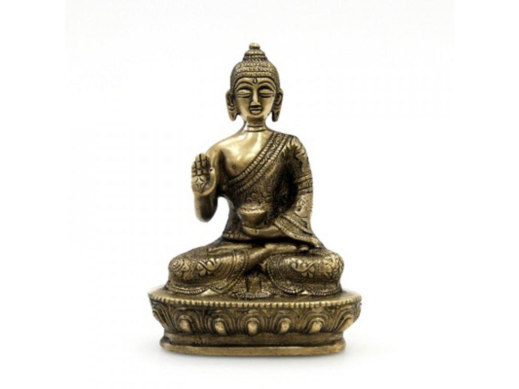 Soška kov Buddha 13,5 cm IV