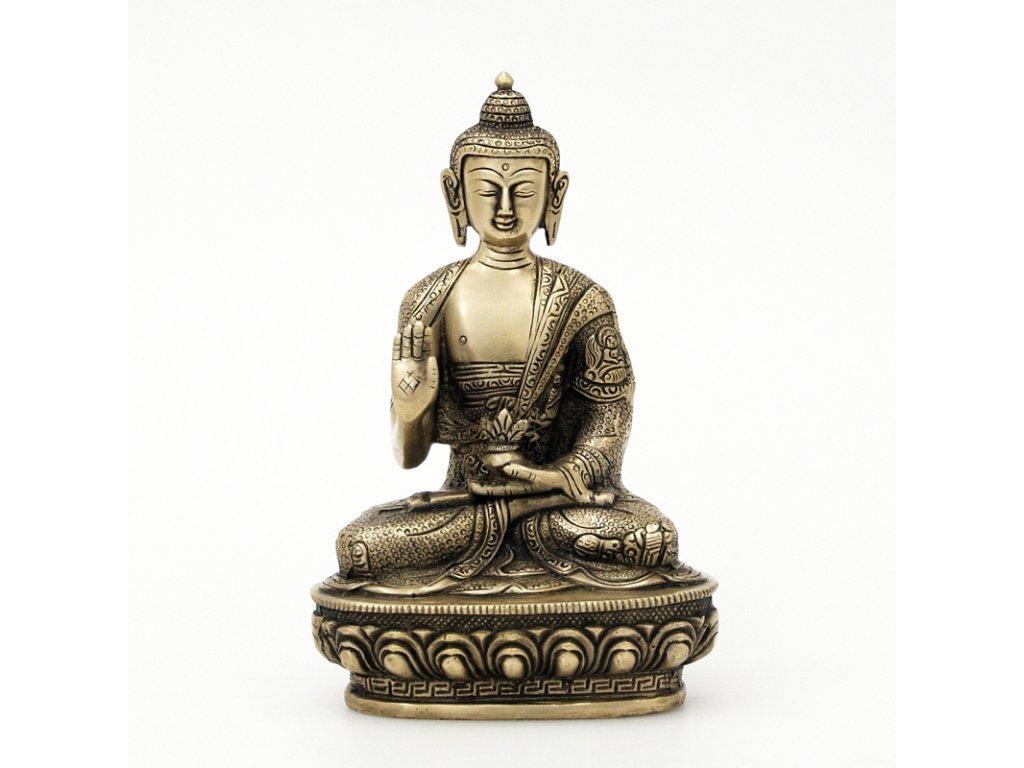Soška kov Buddha 20 cm 02