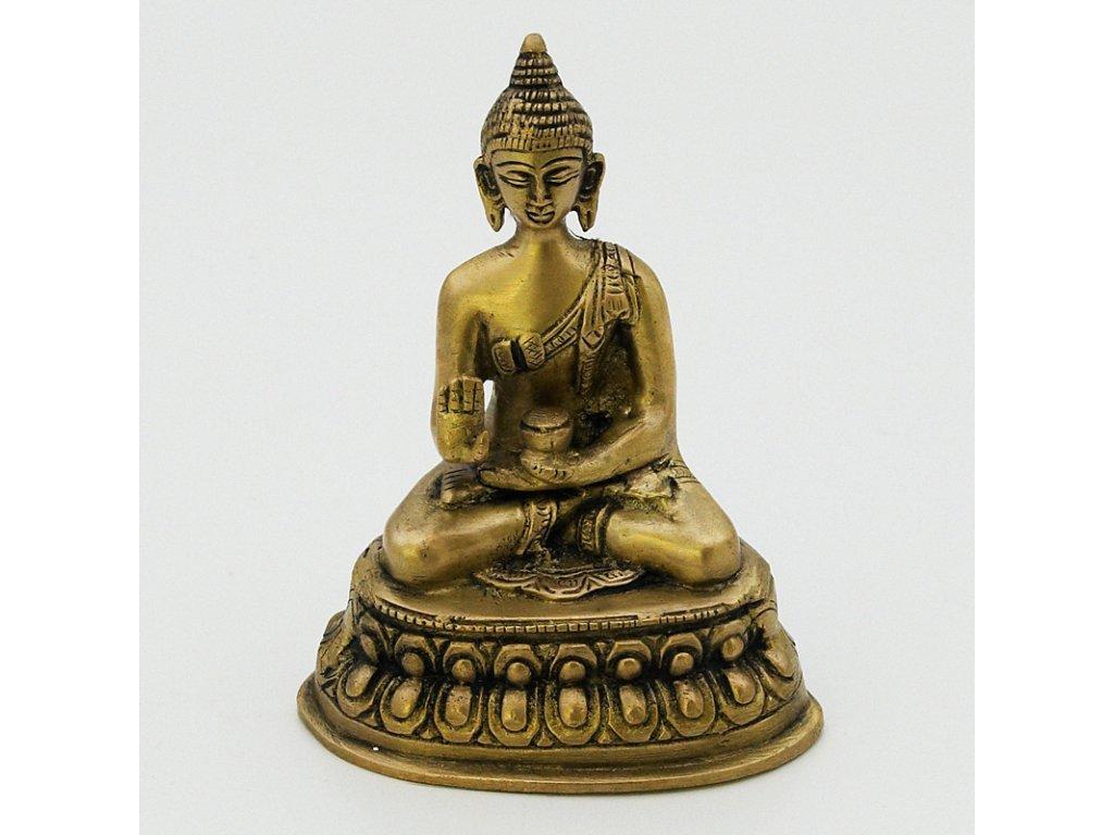Soška kov Buddha 13,5 cm VI