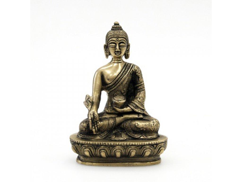 Soška kov Buddha 13,5 cm II