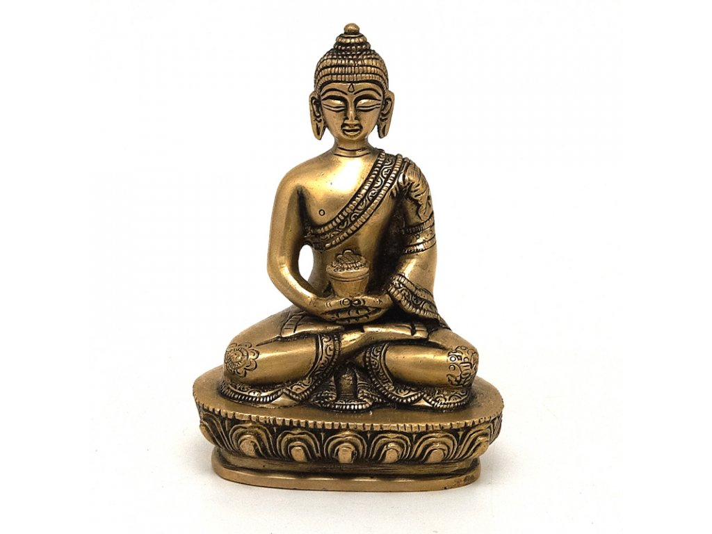 Soška kov Buddha 13,5 cm I
