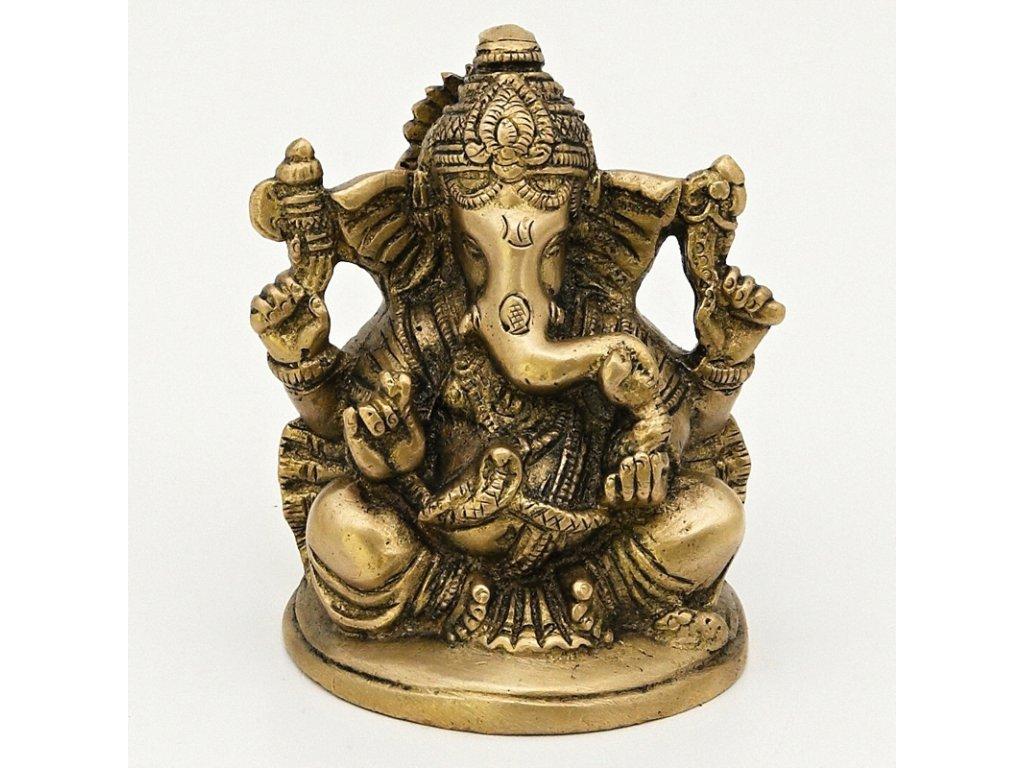 Soška kov Ganesha 10 cm 02