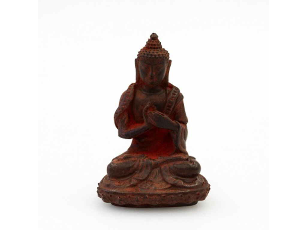 Soška resin Buddha 9 cm 04