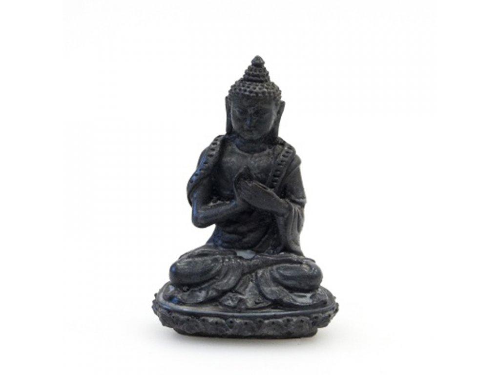 Soška resin Buddha 9 cm 05