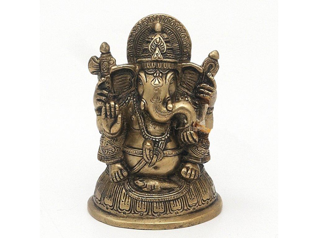 Soška kov Ganesha 12 cm