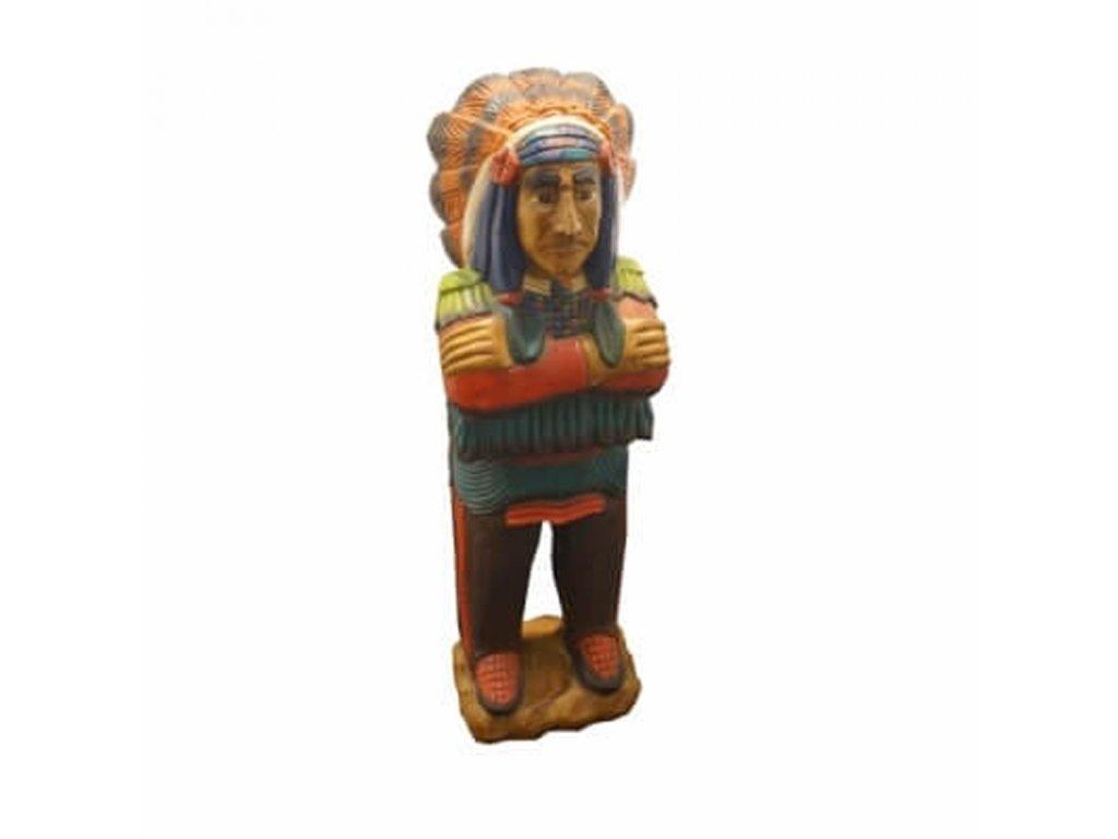Soška dřevo Indián 103 cm