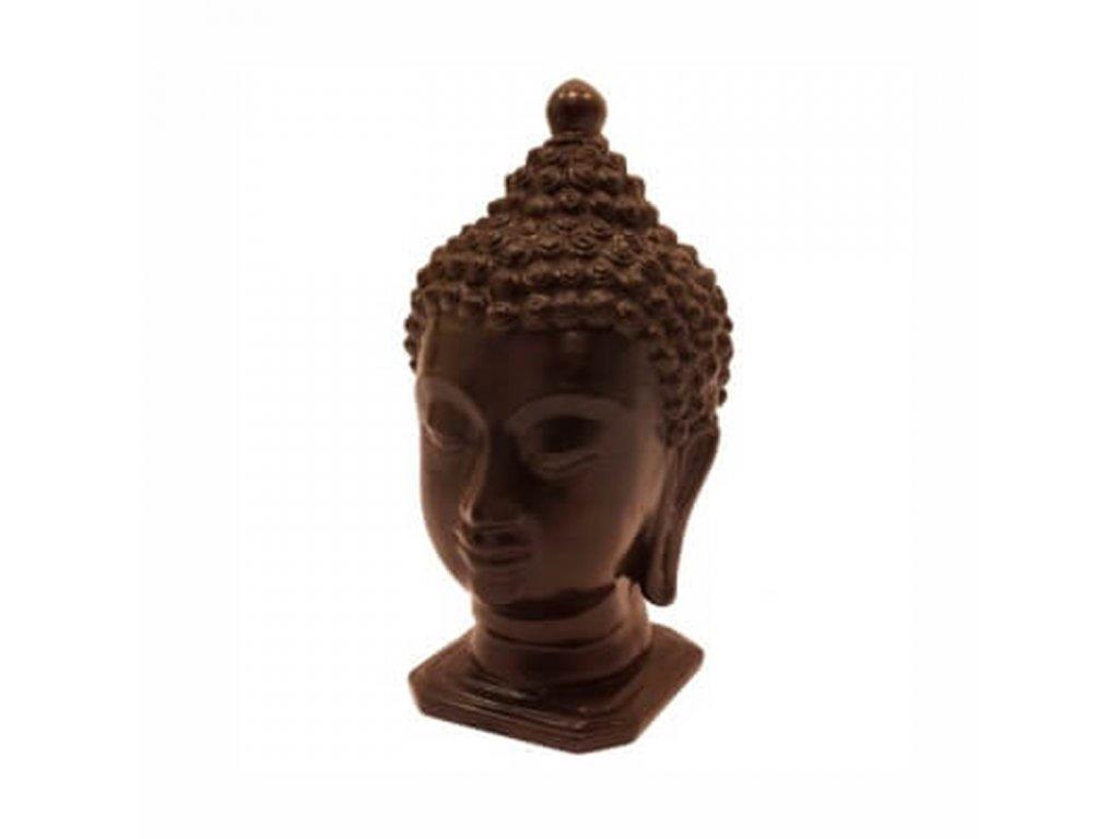 Soška resin Buddha hlava 21 cm