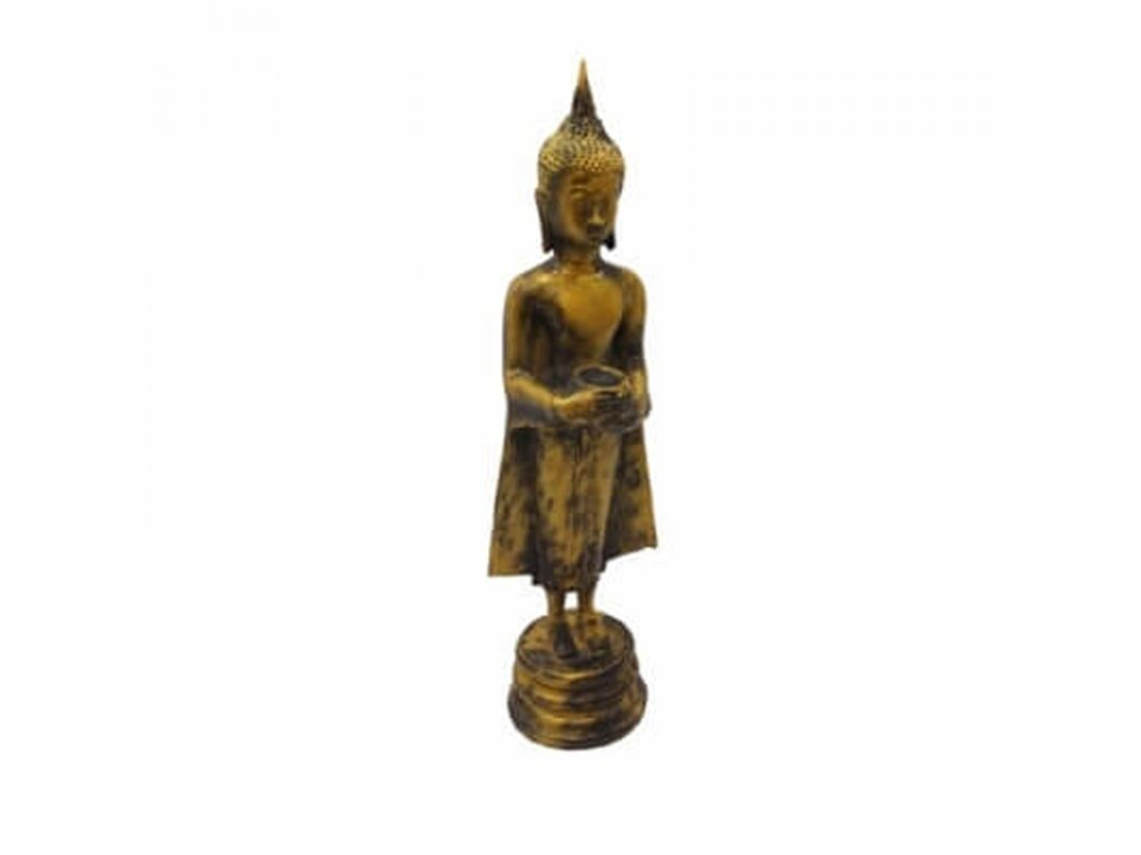 Soška resin Buddha Alms Bowl 56 cm