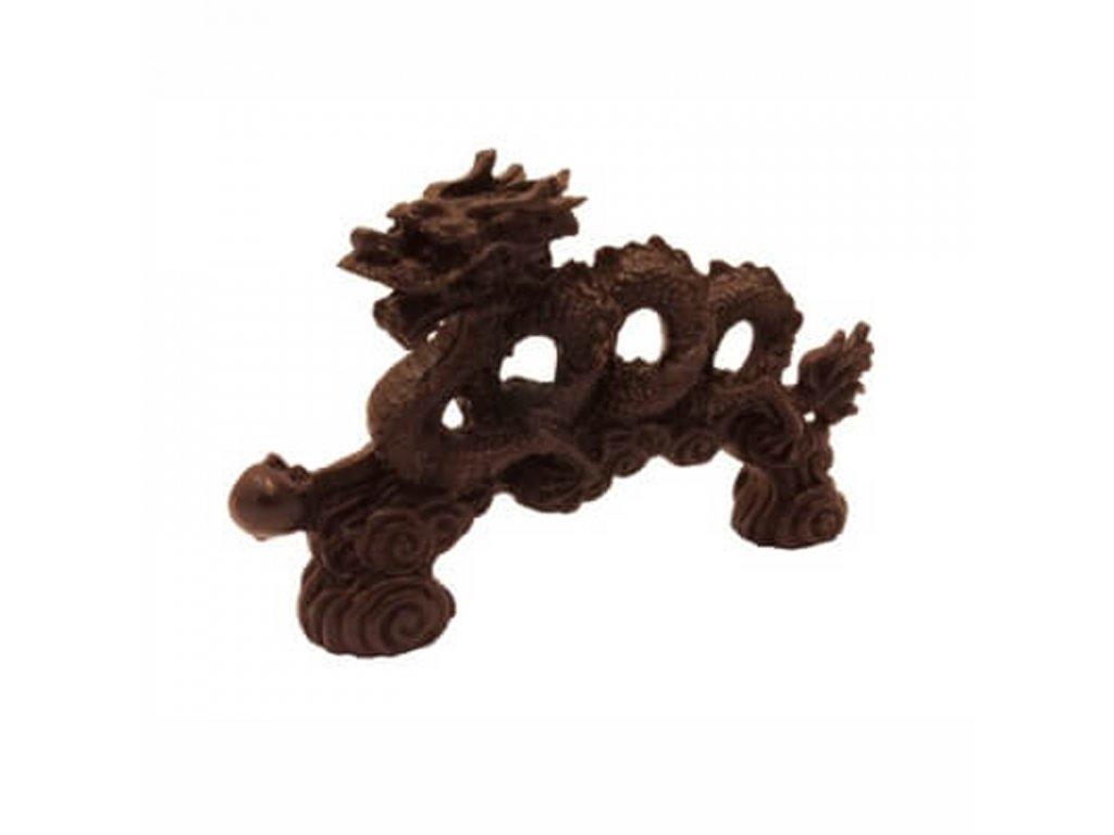 Soška resin Čínský drak 13 cm