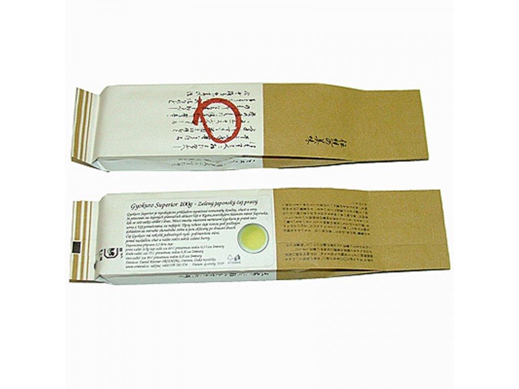 Japonský zelený čaj Gyokuro Superior 100 g