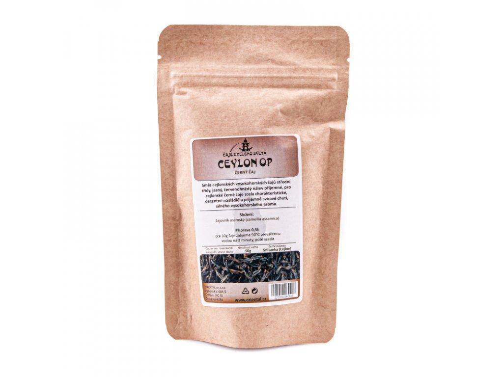 Cejlonský černý čaj OP 50 g