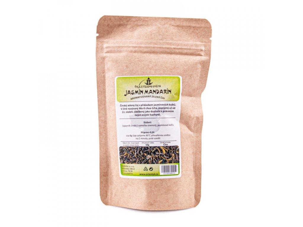 Čaj aromatizovaný Jasmín mandarín 50 g