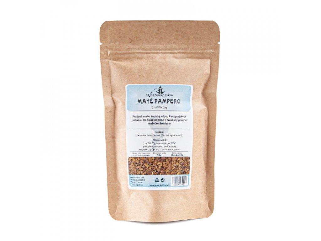 Rostlinný čaj Mate Pampero 50 g