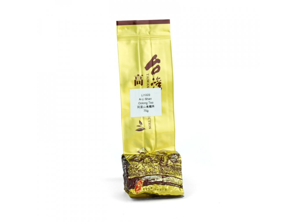 Taiwanský polozelený čaj Formosa A-Li Shan Mount Oolong 75 g