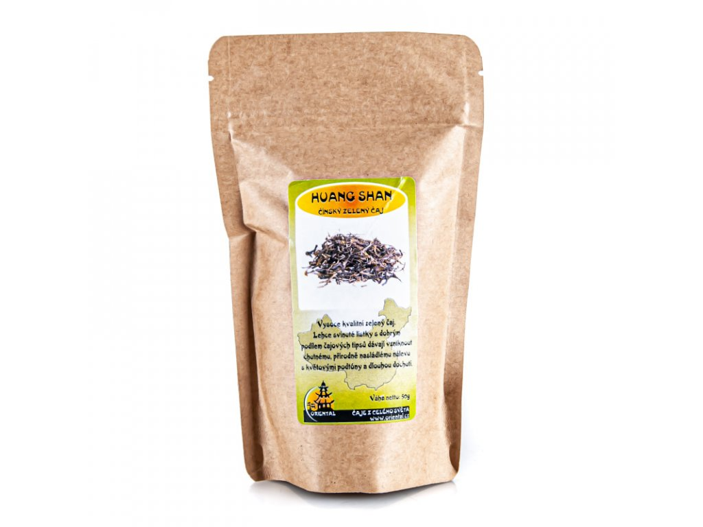 Čínský zelený čaj Huang Shan Mao Jian 50 g