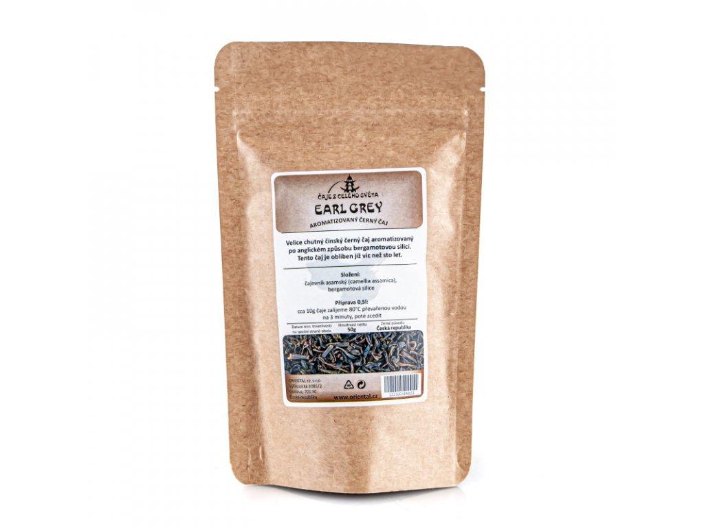 Černý čaj Earl Grey 50 g