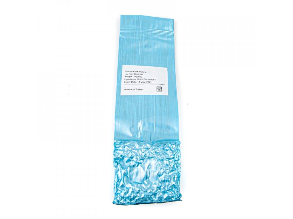 Taiwanský polozelený čaj Formosa Nai Xian Milk Oolong 75 g