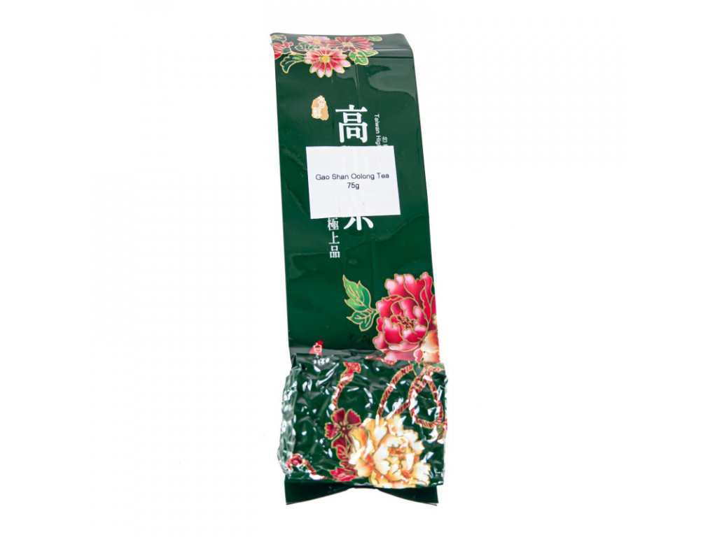 Taiwanský polozelený čaj Formosa Gao Shan Oolong 75 g