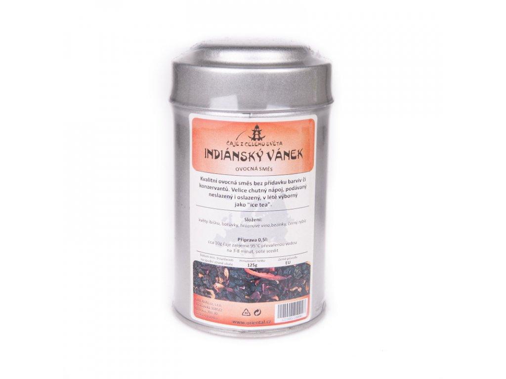 Ovocný čaj Indiánský vánek 125 g dóza
