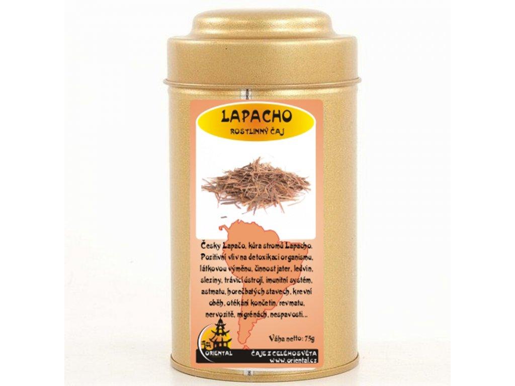Rostlinný čaj Lapacho 75 g dóza