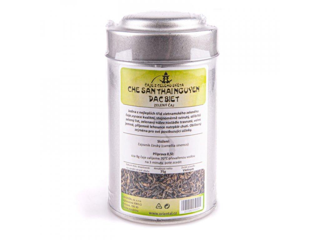 Vietnamský zelený čaj 75 g dóza