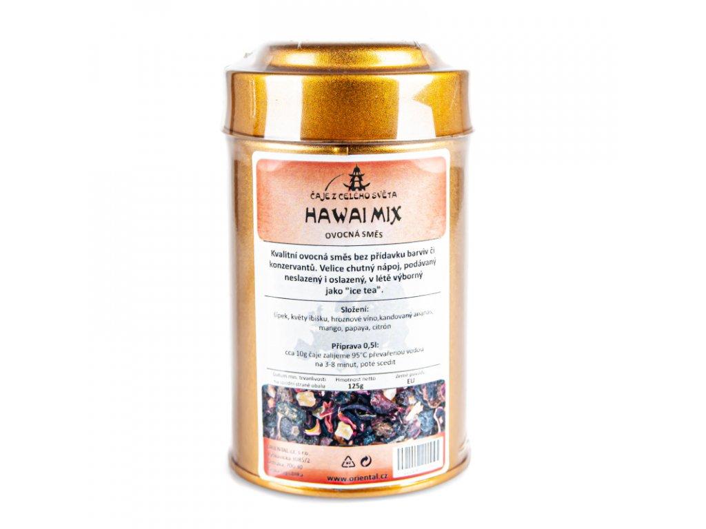 Ovocný čaj Hawaii mix 125 g dóza