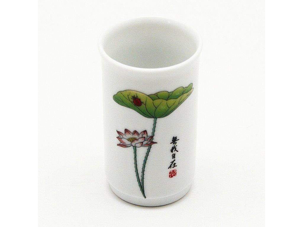 Šálek porcelánový Flower vysoký