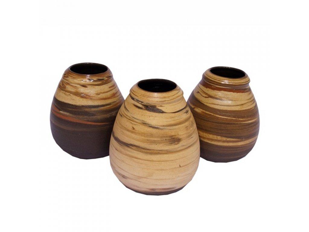 Kalabasa keramika 350 ml červená