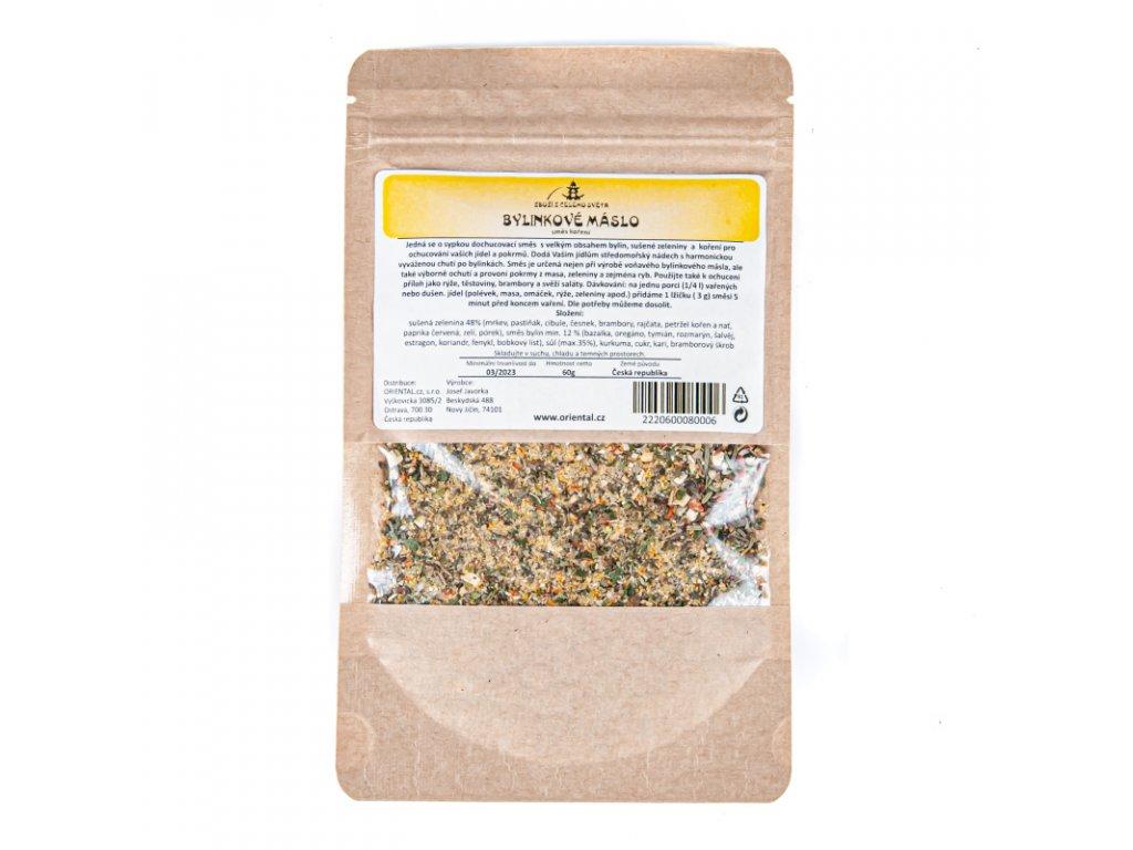Koření - Bylinkové máslo 60 g