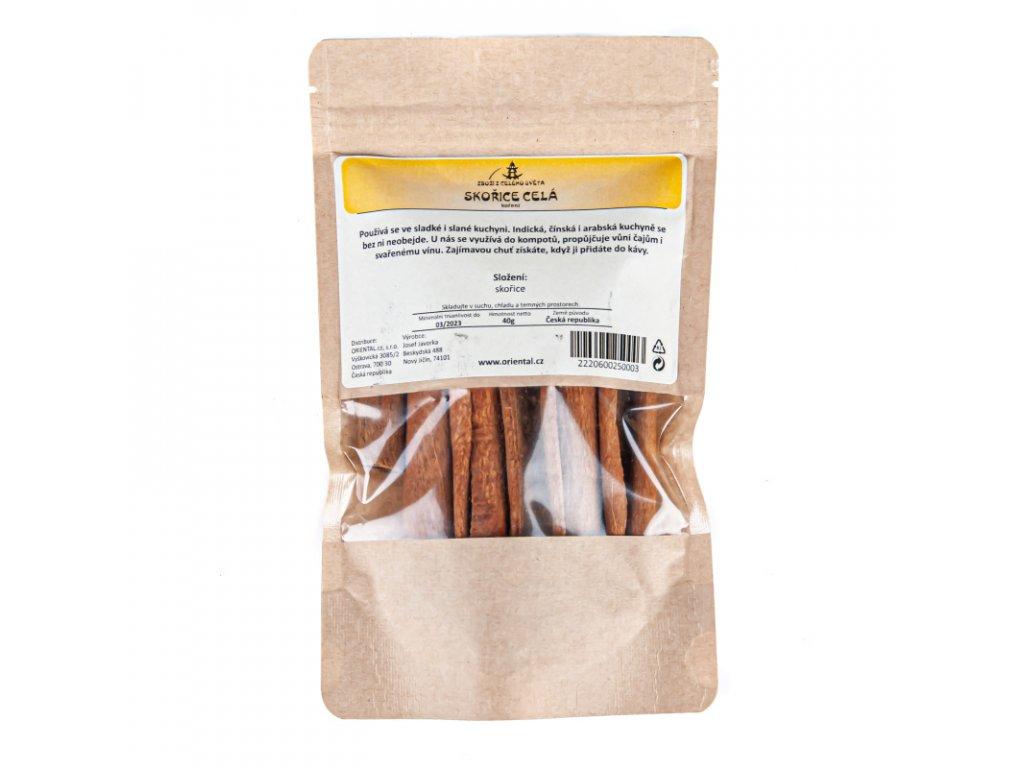 Koření - Skořice celá 6 - 8 cm 40 g