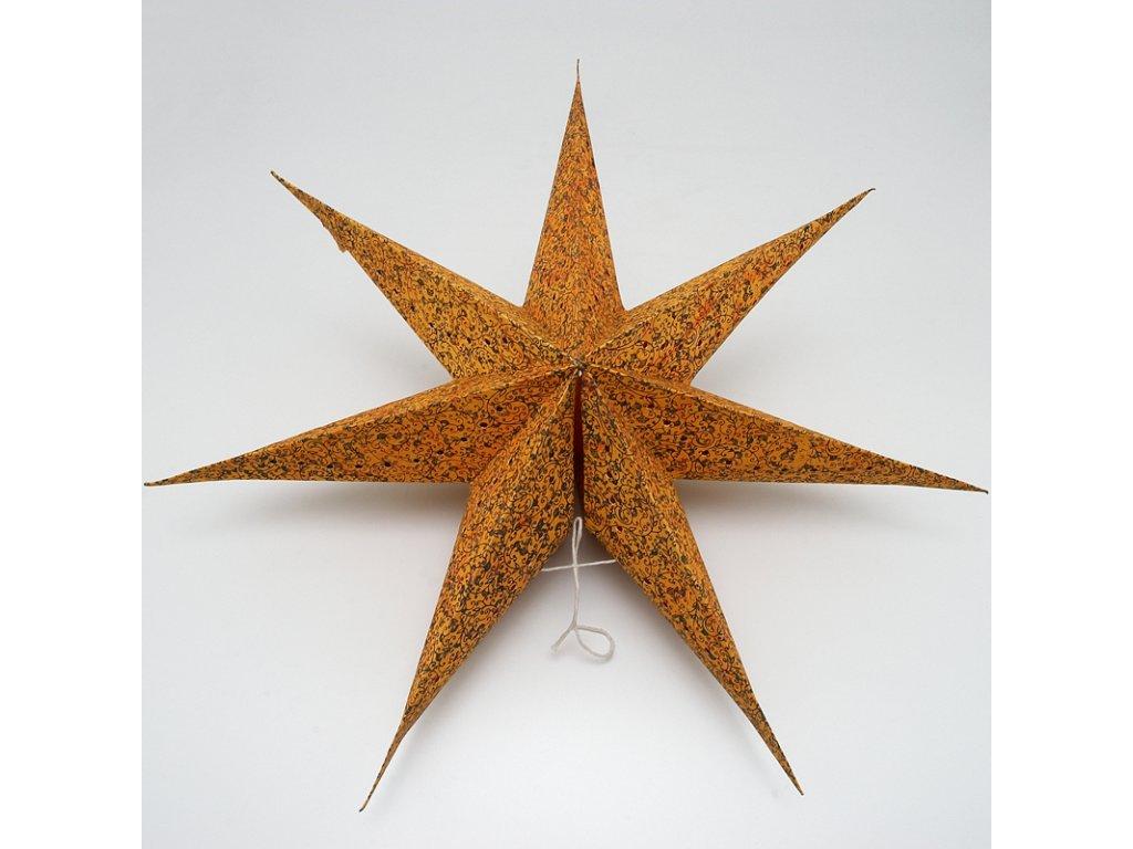 Lampion stínidlo hvězda Dipti