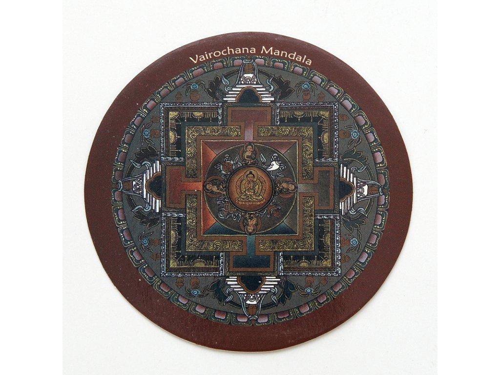Samolepka Tibet - Vairochana Mandala