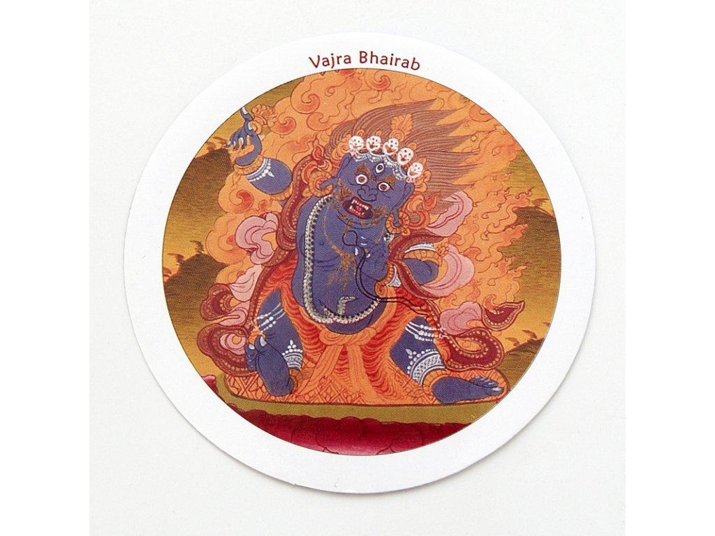 Samolepka Tibet - Vajra Bhairab